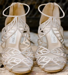 Feel Like Cinderella in Your Sparkly Wedding Shoes