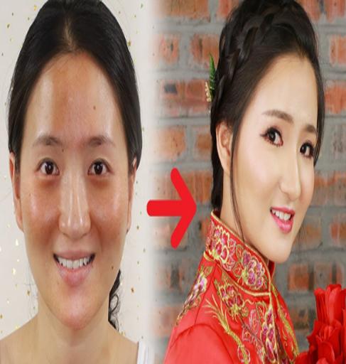 chinese wedding makeup