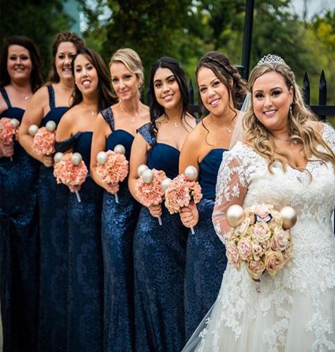 plus size brides