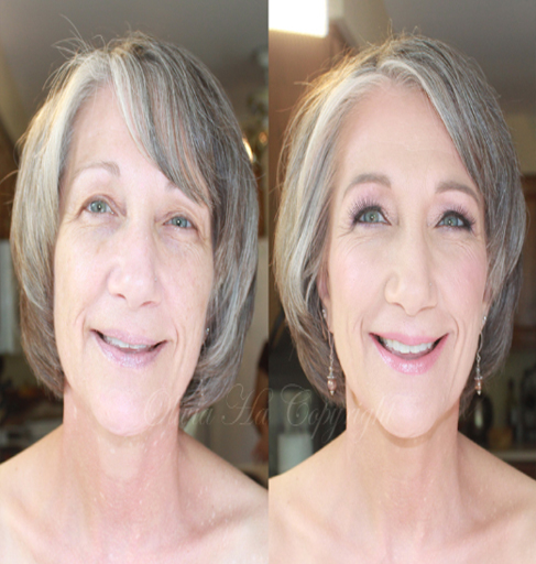 senior wedding beauty nakeover